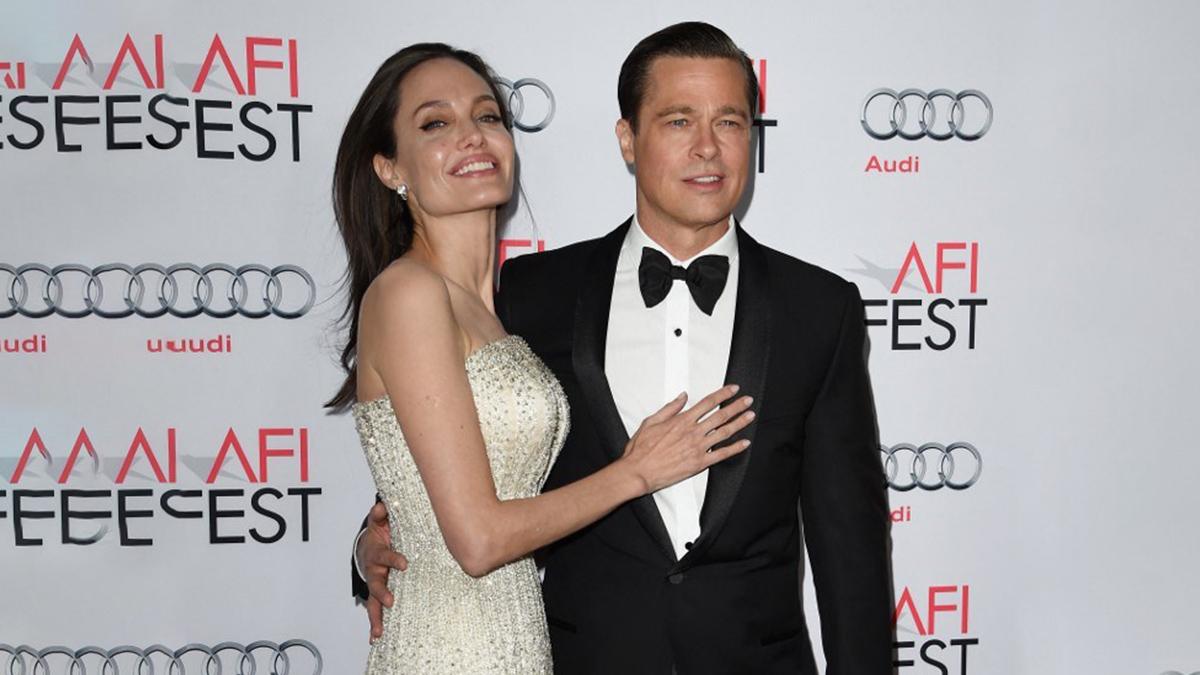 Brad Pitt cuetodia de sus hijos