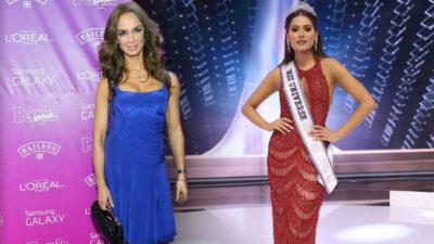 Lupita Jones y su error al felicitar a Andrea Meza como Miss Universo 2021