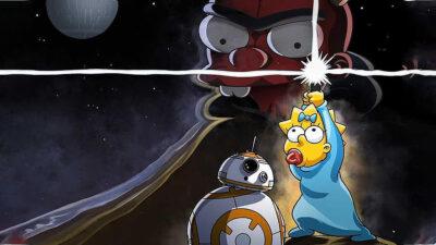 Los Simpson se unen al festejo de Star Wars