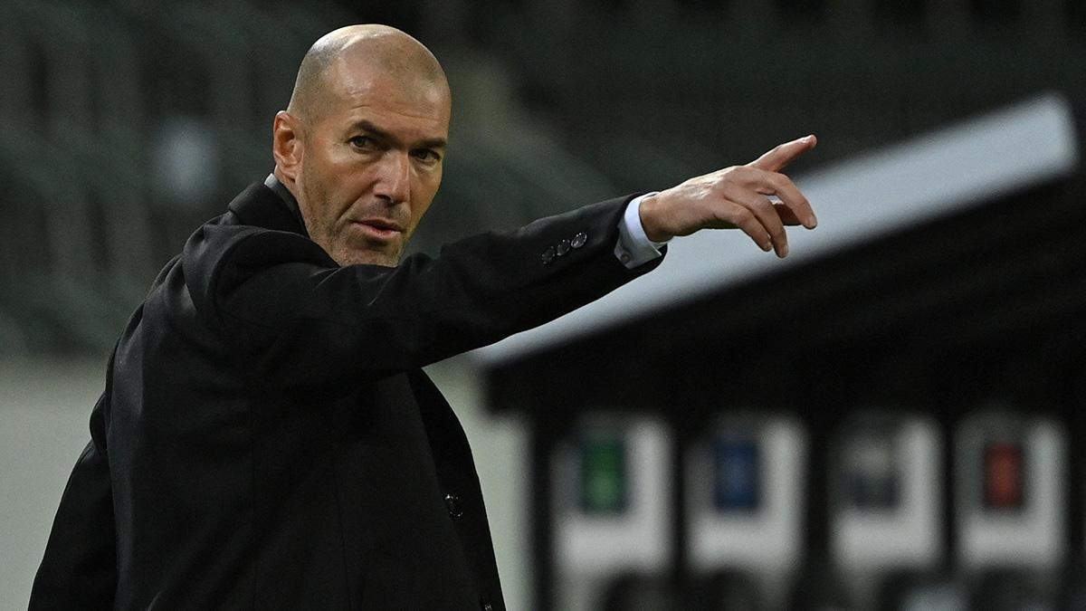 """Zidane critica al Real Madrid, dice que se va por falta de """"confianza"""""""
