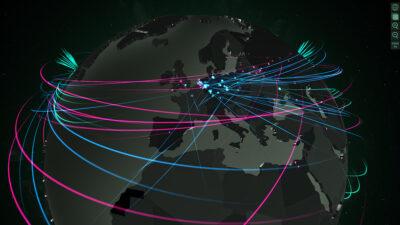 mapa ciberataques