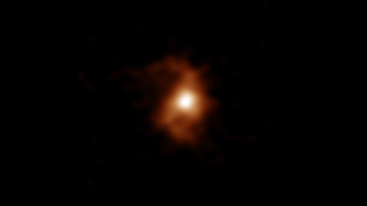 Captan la galaxia en espiral más antigua hasta ahora conocida