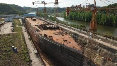 Titanic: China crea réplica del barco más famoso del mundo