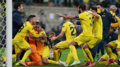 Villarreal se corona en la Europa League