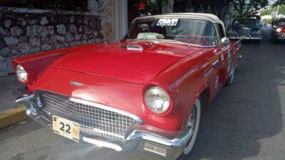 Yucatán: llegan 124 autos clásicos al estado