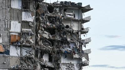 Derrumbe Florida: reportan casi 100 personas desaparecidas