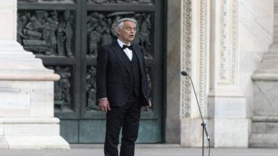 Eurocopa 2020: Andrea Bocelli cantará en la inauguración