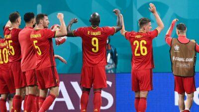 Bélgica Rusia Eurocopa