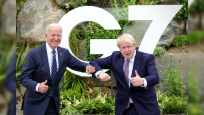 Biden Johnson G7
