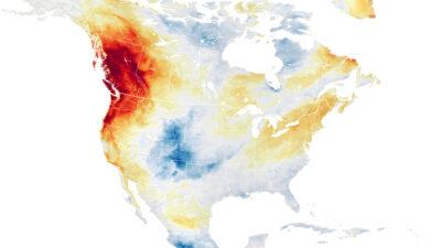 Ola de calor EU-Canadá; NASA muestra imágenes satelitales