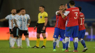 Argentina y Chile empatan (1-1) en su debut en la Copa América 2021