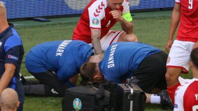 Christian Eriksen Dinamarca Eurocopa