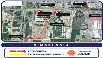 Yucatán: anuncian cierres vehiculares en Mérida, ve rutas