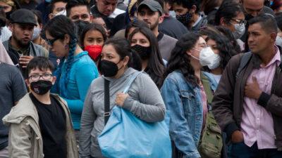 Casos de COVID-19 aumentan en México