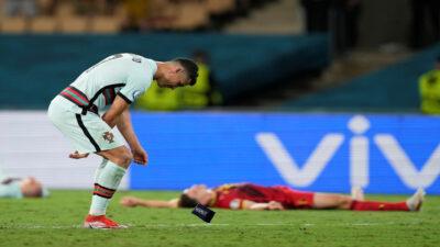 Cristiano Ronaldo se despide de la Euro con berriche y emotivo mensaje