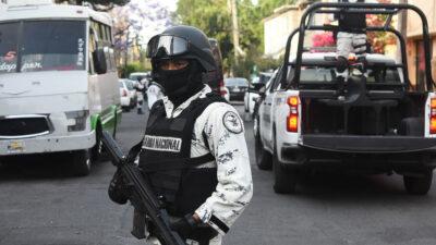 Guardia Nacional patrullajes