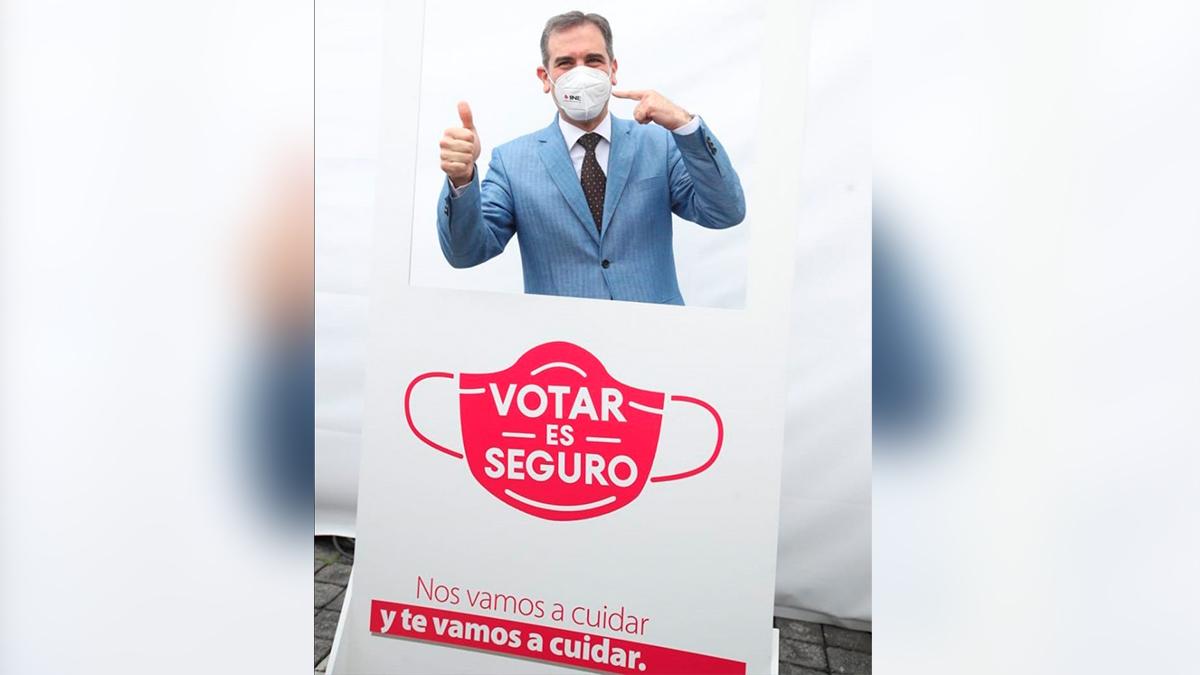 INE: Lorenzo Córdova anunció protocolo para evitar contagios de COVID-19