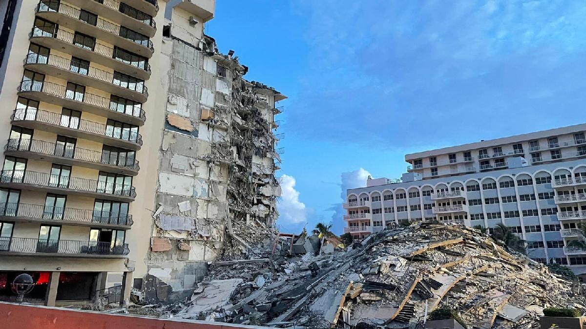 Derrumbe de edificio en Miami, ingeniero advirtió de daño estructural: NYT  - Uno TV