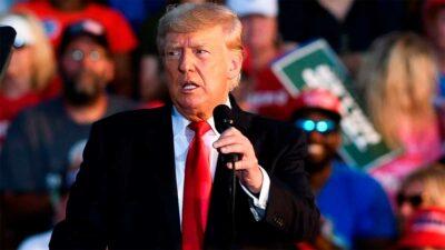 Trump hará el viaje junto al gobernador de Texas, Greg Abbott. Foto: Reuters