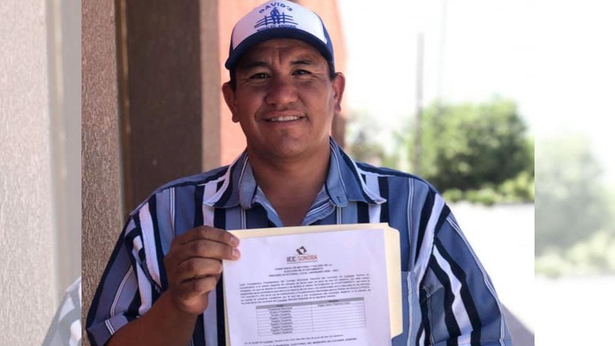 Édgar Palomino Ayón presidente Cucurpe