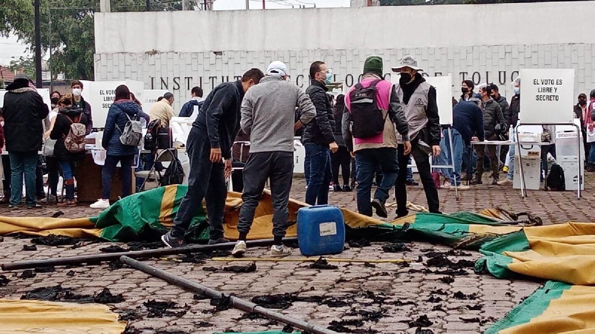 Elecciones México 2021: Se registran disturbios en Metepec, Edomex
