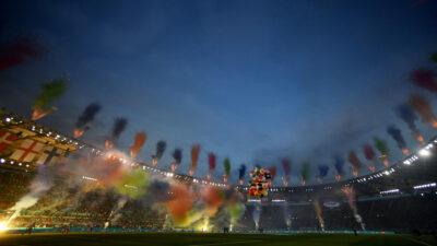 Así fue la espectacular inauguración de la Eurocopa 2020