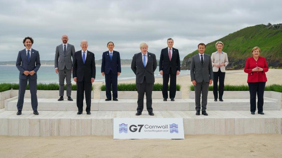 Cumbre del G7 en Inglaterra: inicia con estos temas prioritarios