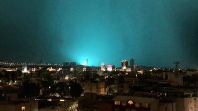 Guanajuato: Extraña luz ilumina cielo; internautas viralizan IMÁGENES