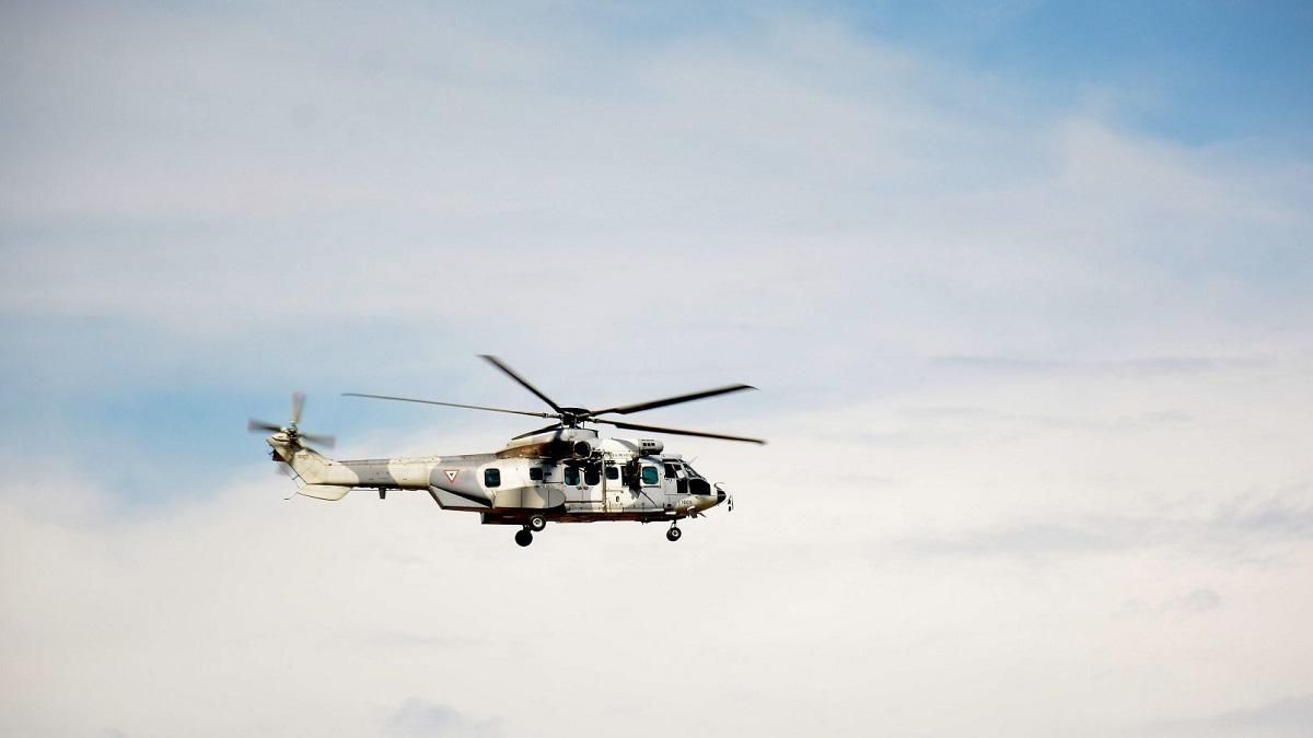 Edomex: helicóptero de la Fuerza Aérea realiza aterrizaje forzoso; ve imágenes