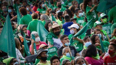 Influencers Partido Verde