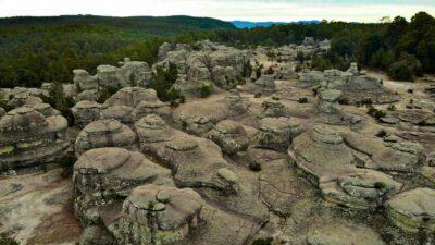 Jardín de Piedras en Mexiquillo, Durango, un escenario de otro planeta