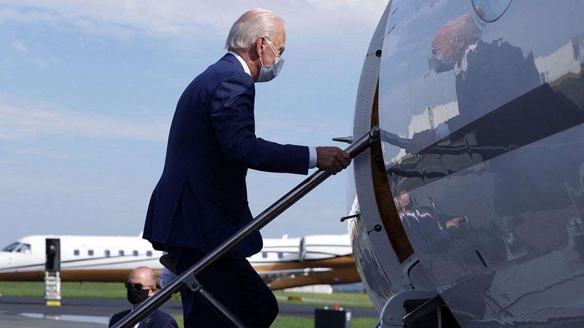 Biden realiza primer viaje al extranjero como presidente de EU