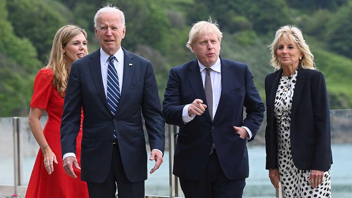 Este encuentro marca el inicio de una intensa gira europea de Joe Biden. Foto: Reuters