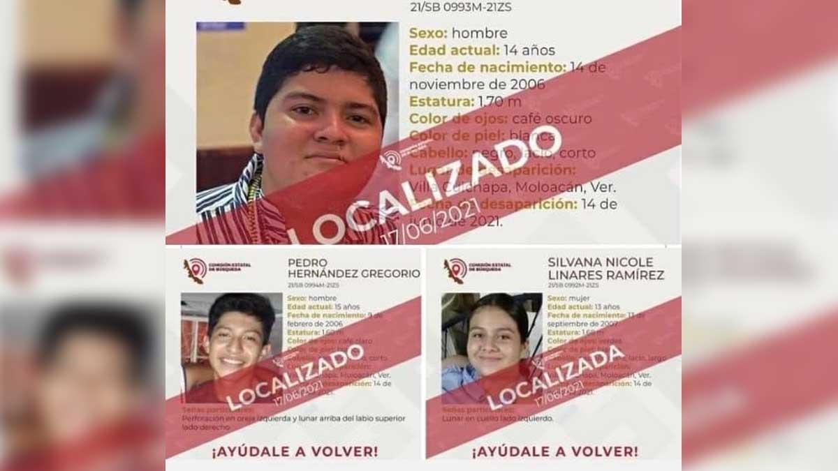 Oaxaca: localizan a jóvenes de Veracruz reportados como desaparecidos