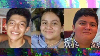 En Veracruz, activan alerta amber para hallar a estos 3 jóvenes