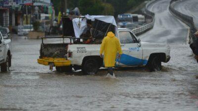 En Veracruz, intensas lluvias dejan daños en seis municipios