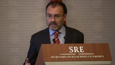 Luis Videgaray impugnará resolución de la SFP