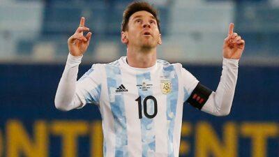 Messi Record Argentina