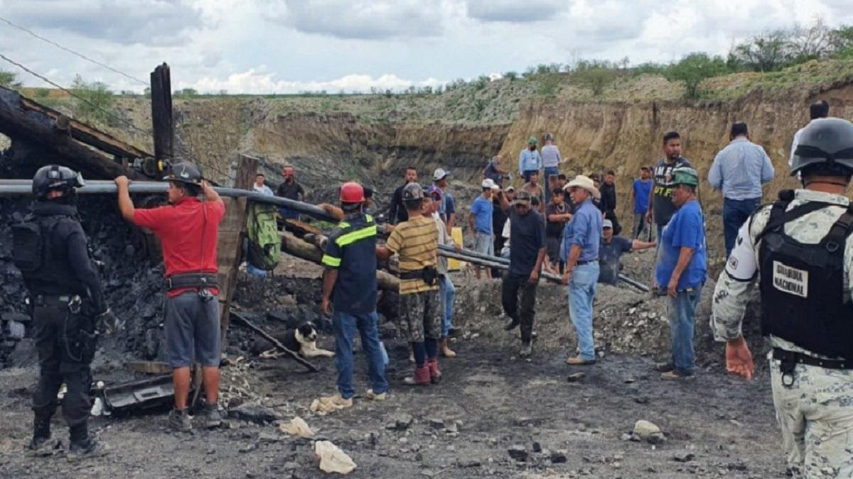 Coahuila: reportan desplome en mina; reportan 7 personas atrapadas