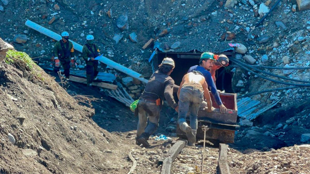 Cuerpo segundo minero