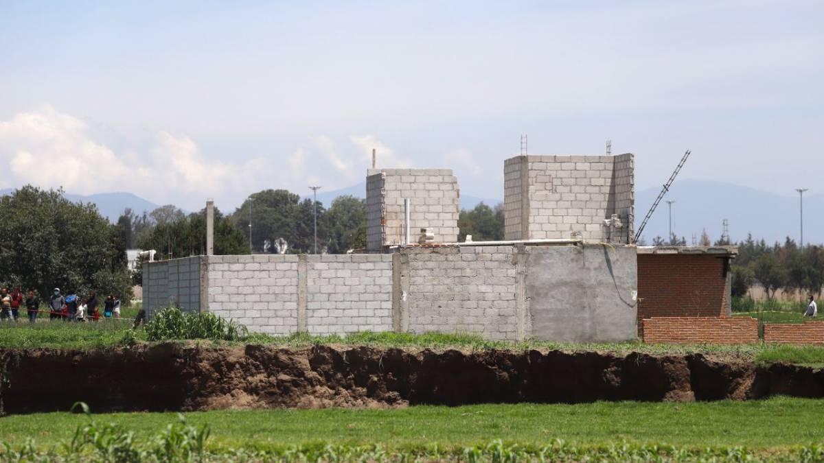 socavón Puebla