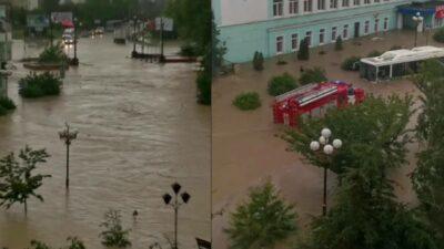Rusia inundaciones Crimea