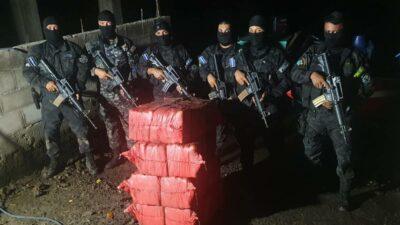 El Salvador cocaína manglar