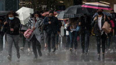 Lluvias alcaldías CDMX
