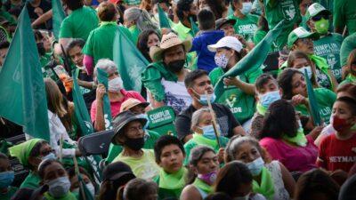 FGR influencers Partido Verde