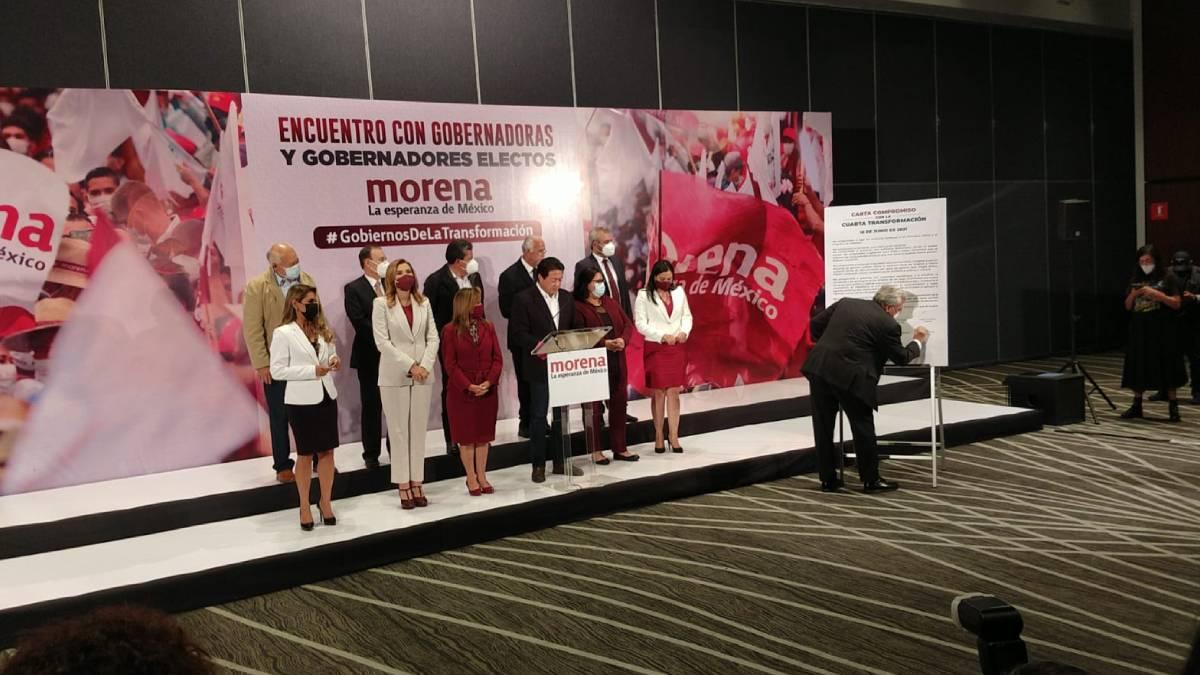 Gobernadores Morena AMLO