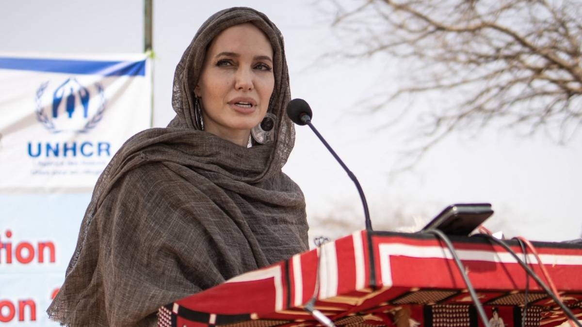 Angelina Jolie refugiados