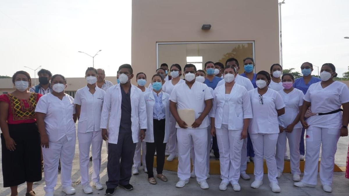Oaxaca: Cierran hospital Insabi para pacientes COVID en Juchitán