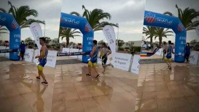 Atleta celebra antes de llegar a la meta y pierde primer lugar en carrera