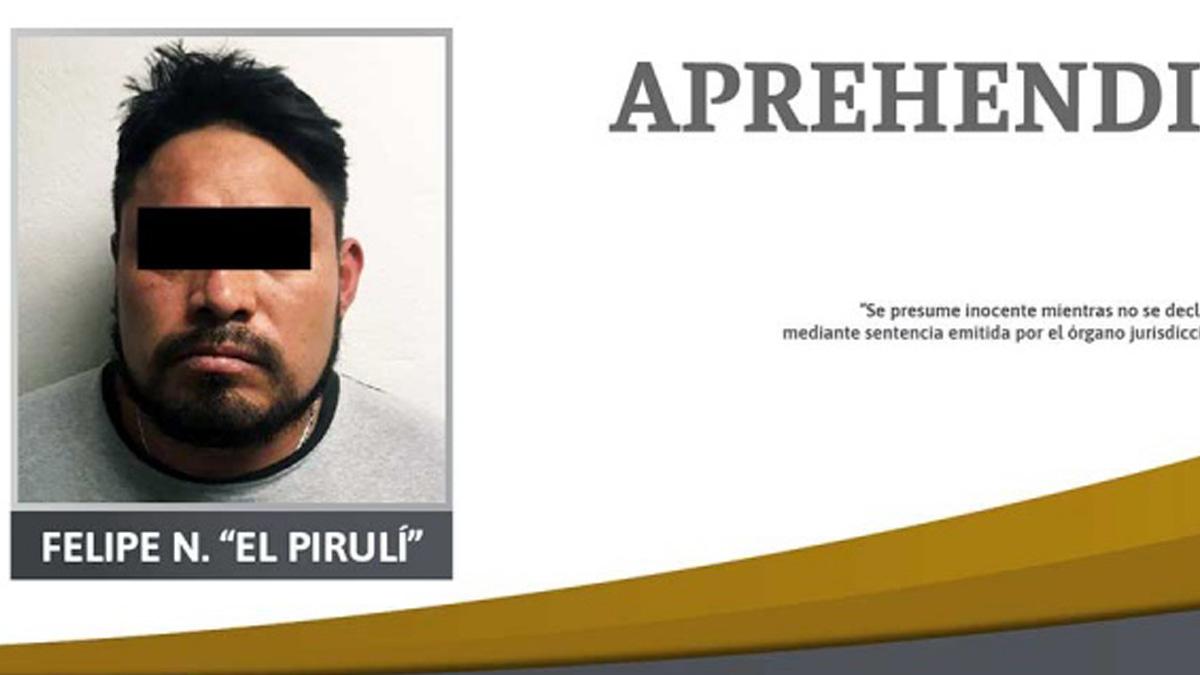 """Puebla: detienen a uno por fuga del """"Pirulí"""" de penal"""